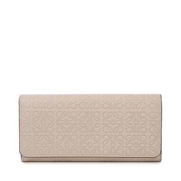 LOEWE Continental Wallet 乳白色 front