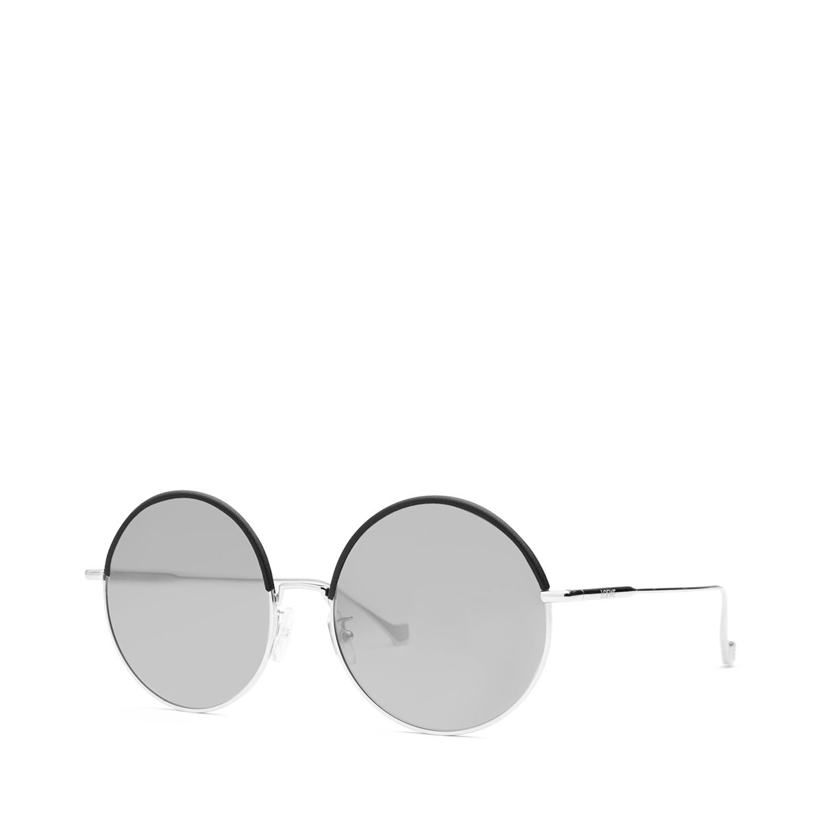 LOEWE Round Sunglasses Black/Gradient Smoke all