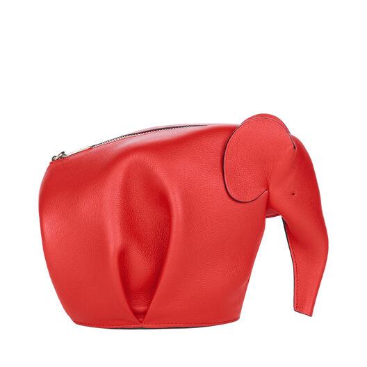 LOEWE Elephant Mini Bag 猩红色 all