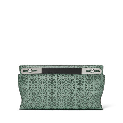 LOEWE Bolso Missy Repeat Pequeño Vetiver/Negro front
