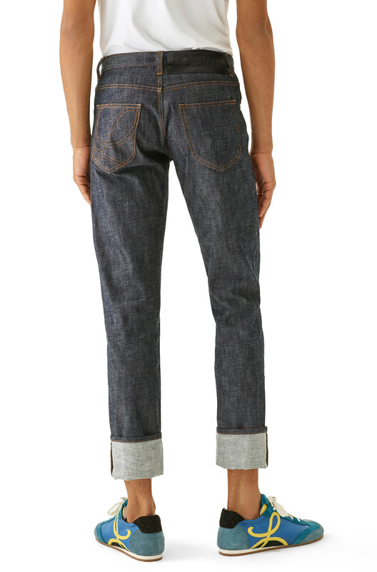 LOEWE 5 Pockets Jeans 丹寧藍 front