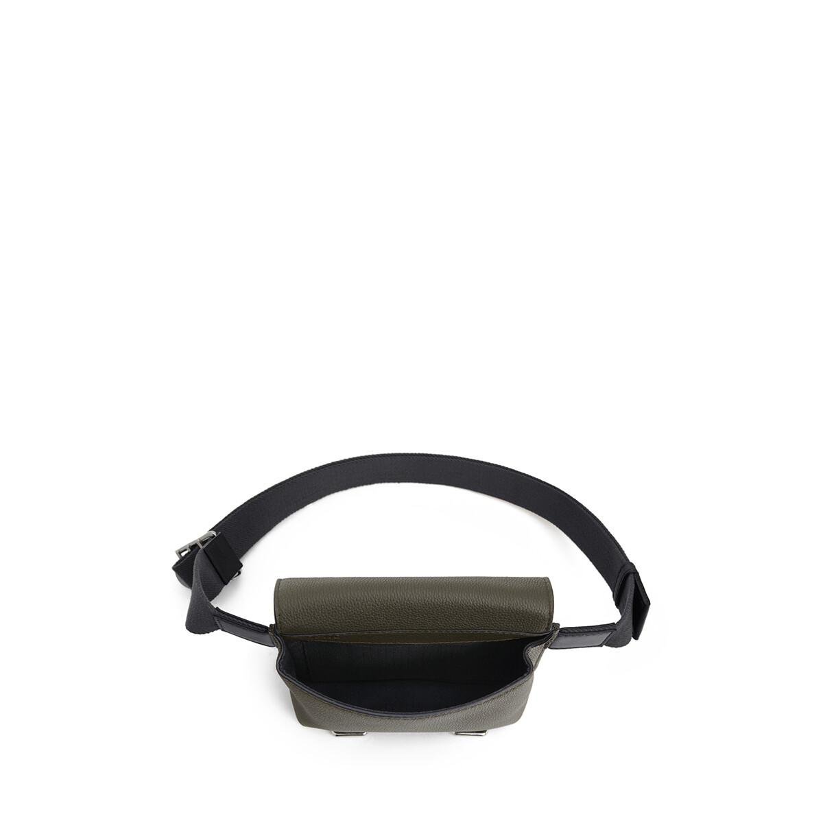 LOEWE Military Bumbag Khaki Green/Black front