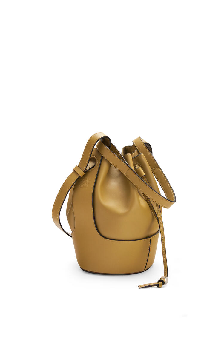 LOEWE Small Balloon bag in nappa and calfskin Ochre Green pdp_rd