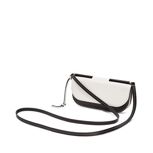 LOEWE Gate Pochette White/Black front