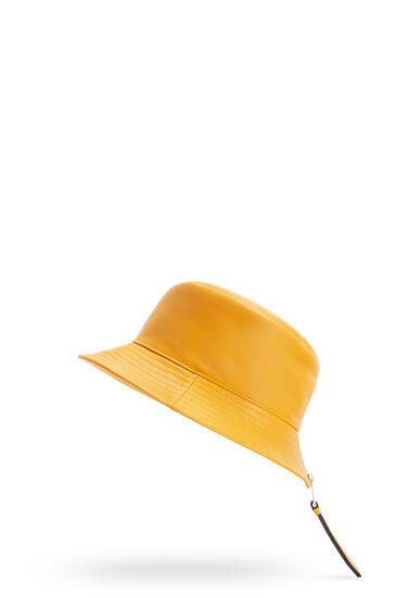 LOEWE Fisherman hat in nappa calfskin narcisus yellow pdp_rd