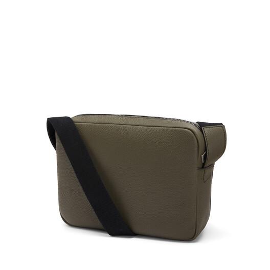 LOEWE Military Messenger Xs Bag Khaki Green/Black front