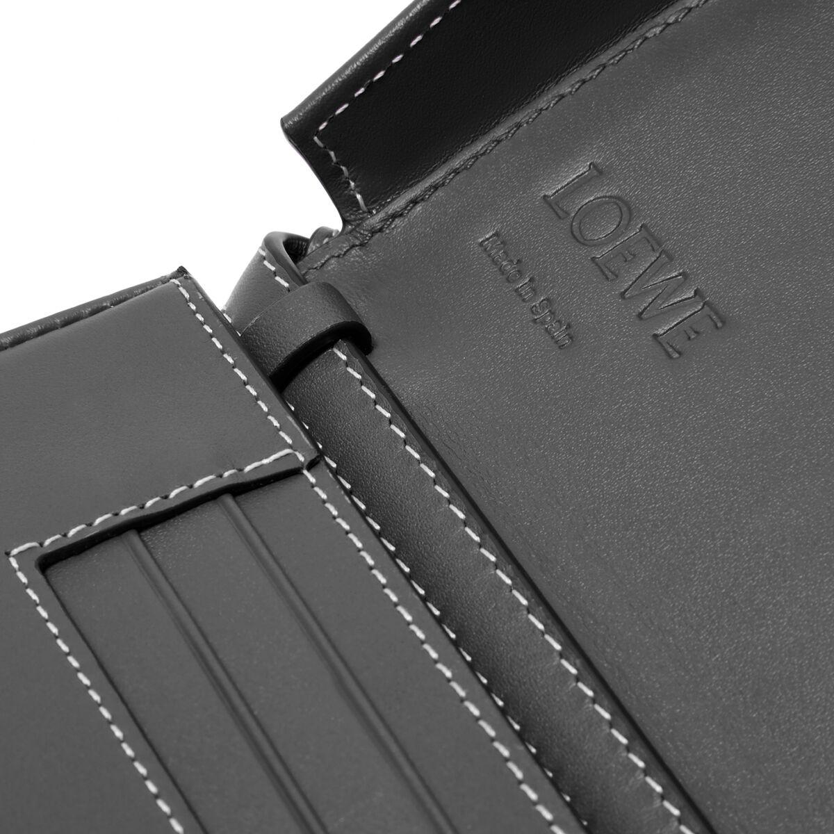 LOEWE Heel Mini Bag Black front