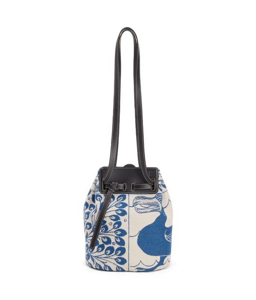 LOEWE Lazo Bucket Tiles Blue front