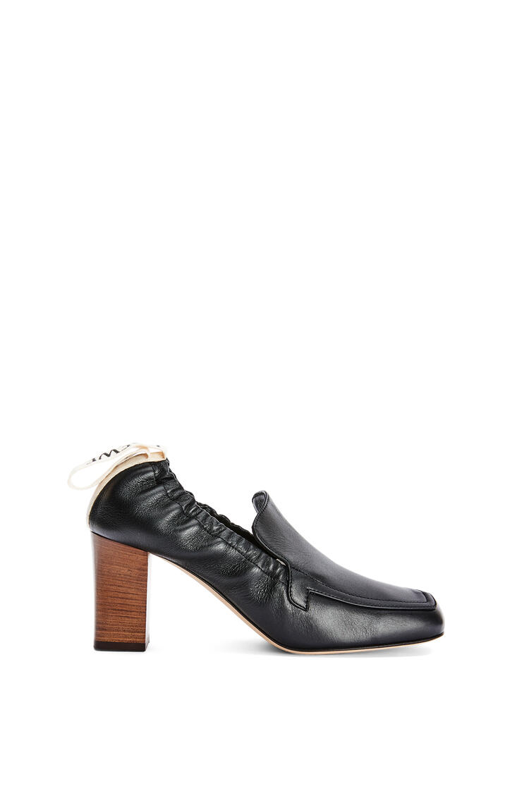 LOEWE Elasticated loafer 70 in calf Black pdp_rd