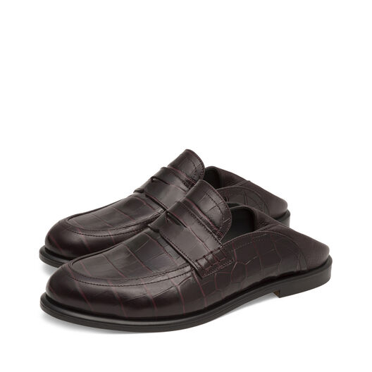 LOEWE Slip On Loafer Burdeos all