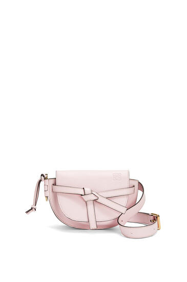 LOEWE Gate bumbag in soft calfskin Icy Pink pdp_rd