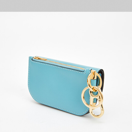 LOEWE Gate Mini Wallet Light Blue front