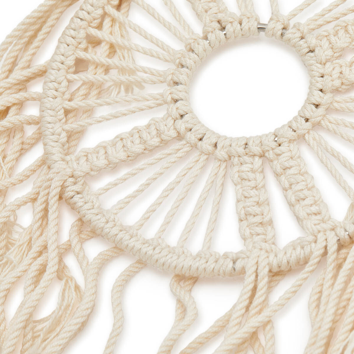 LOEWE Paula Dream Catchers Earrings Soft White front