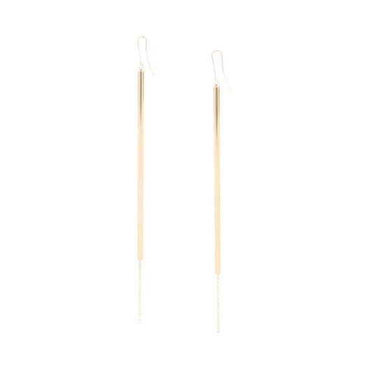 LOEWE Stick Earrings Gold front