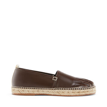 LOEWE Espadrille Toes Marron Oscuro front