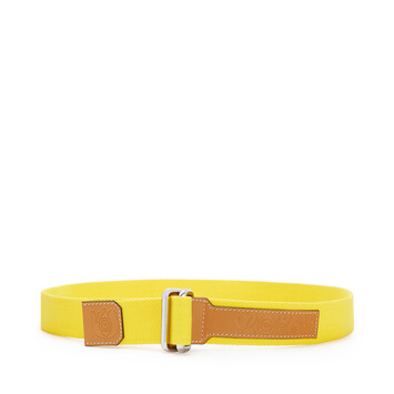 LOEWE Eye/Loewe/Nature Belt Yellow front