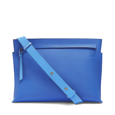 LOEWE T Messenger Bag Pacific Blue/Seaside Blue front