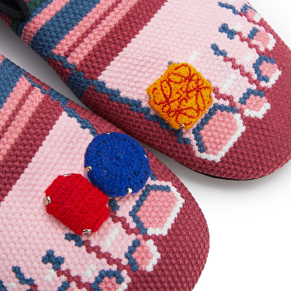 LOEWE Slipper Dedos Fucsia/Rosa front