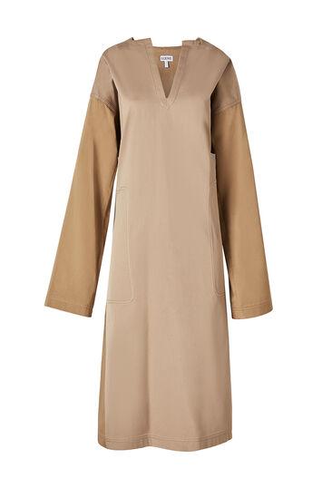 LOEWE Tunic Dress 米色 front