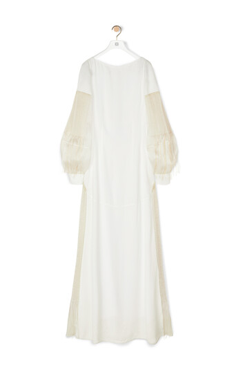 LOEWE Golden String Dress White front