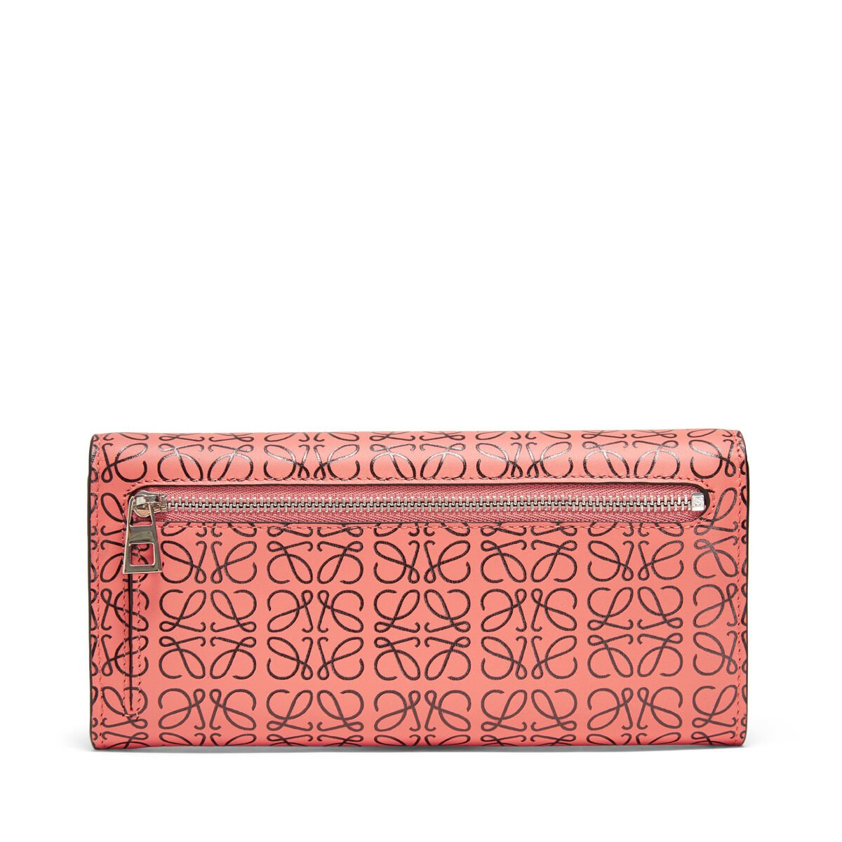 LOEWE Continental Wallet Pink Tulip/Black all