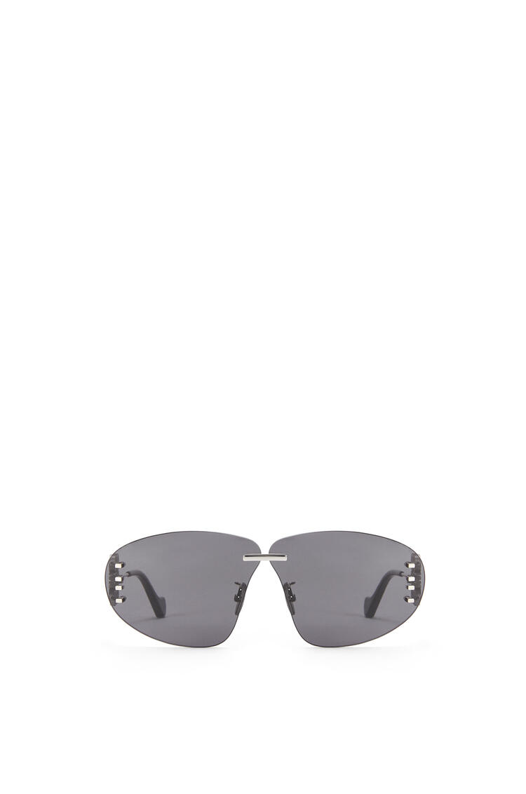 LOEWE Rimless oval Anagram sunglasses Smoke/Palladium pdp_rd