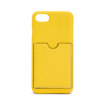 LOEWE Cover For Iphone 8 イエロー front