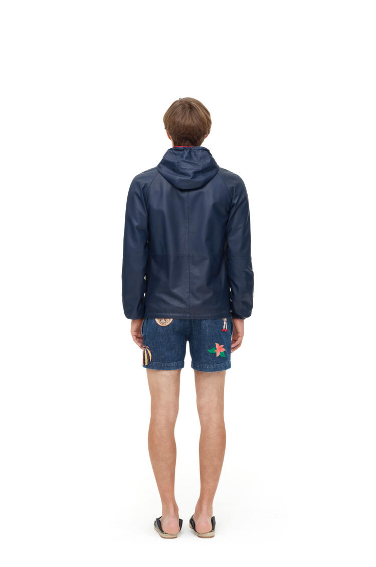 LOEWE Reversible anorak in nappa Navy/Red pdp_rd