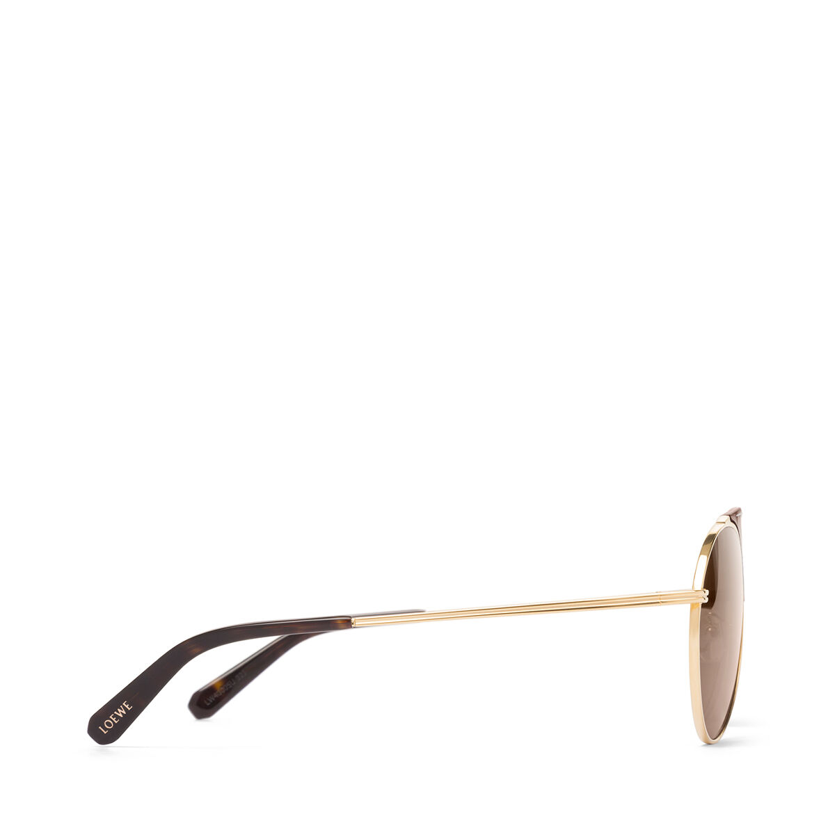 LOEWE Pilot Sunglasses Brown/Roviex all