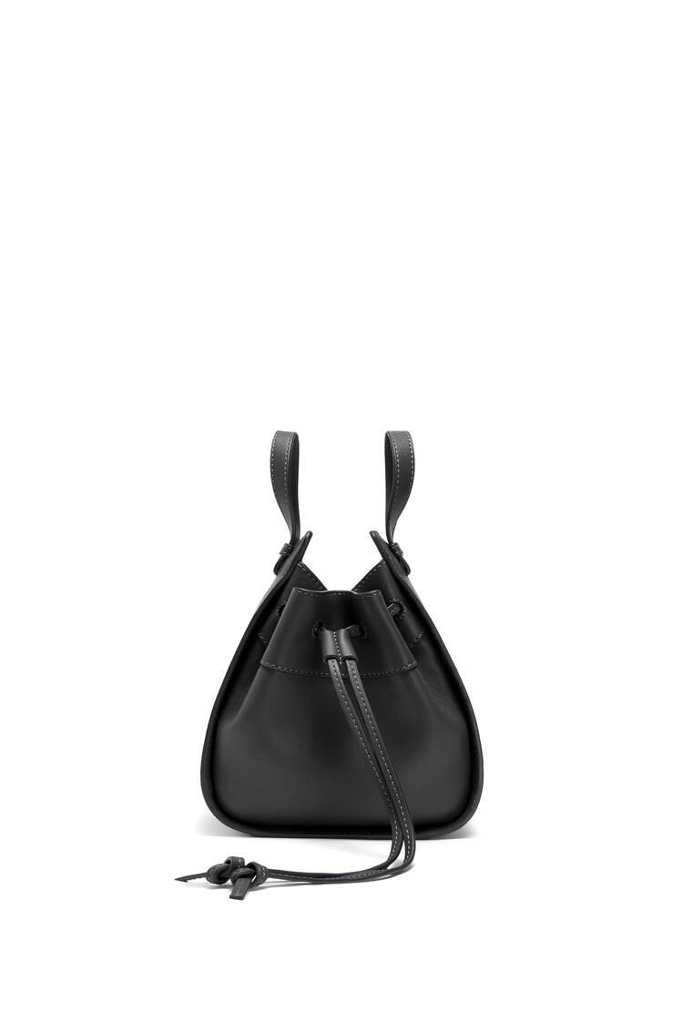 LOEWE ハンモック ドローストリングバッグ ミニ(ナパ カーフスキン) ブラック pdp_rd