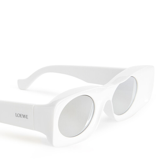 LOEWE Paula's Ibiza Original Sunglasses In Acetate 白 front
