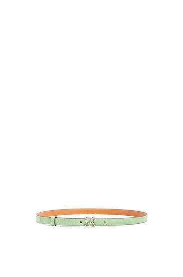 LOEWE Cinturón en piel de ternera lisa Jade/Paladio pdp_rd
