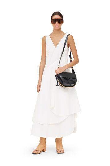 LOEWE Petal Dress Blanco front