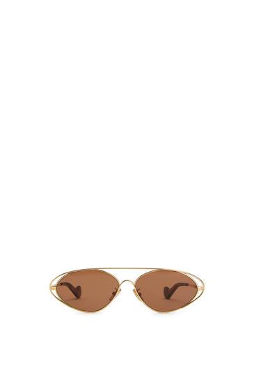 LOEWE Gafas de sol ovaladas Avellana pdp_rd
