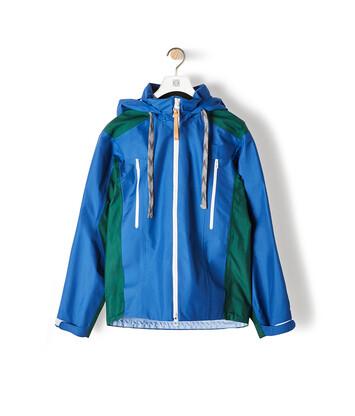 LOEWE Eln Parka Blue/Green front