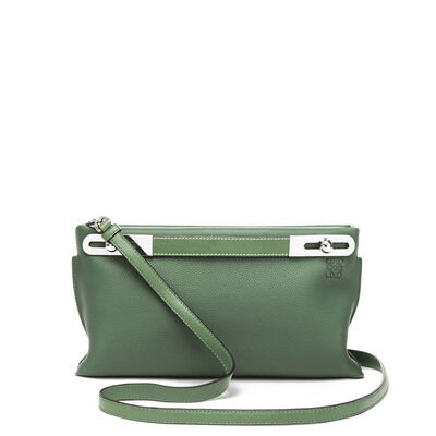 LOEWE Missy Small Bag Forest Green front