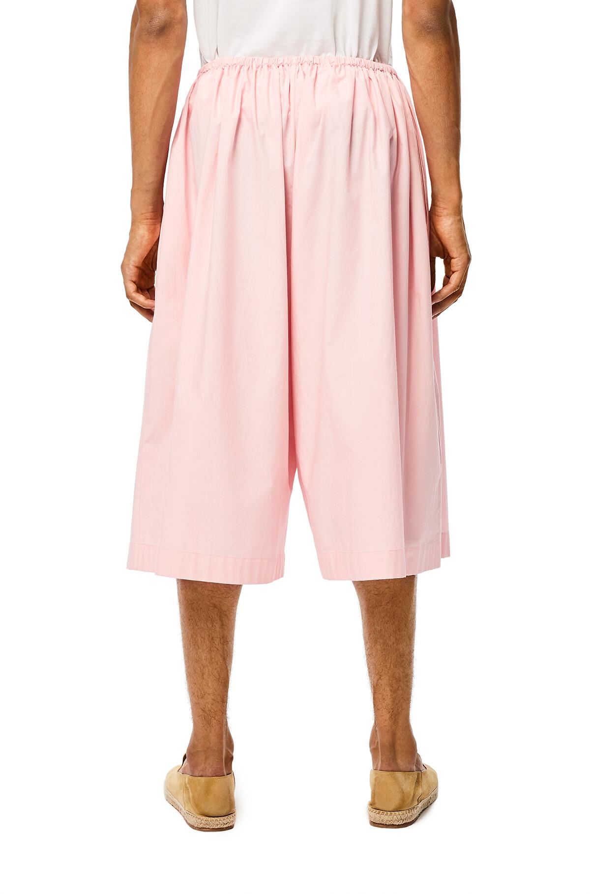 LOEWE Large Pilgrim Shorts Rosa Bebe front