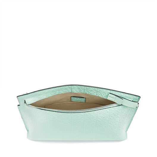 LOEWE T Pouch Repeat Mint front