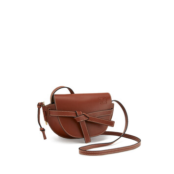 LOEWE Bolso Gate Mini Color Oxido front