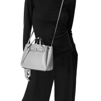 LOEWE Lazo Mini Bag 白色 front