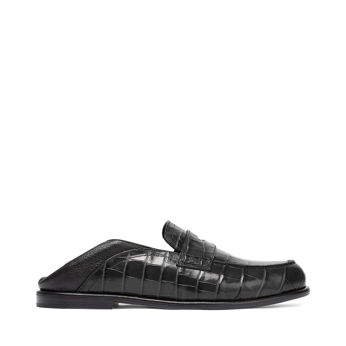 LOEWE Slip On Loafer 黑色/黑色 all