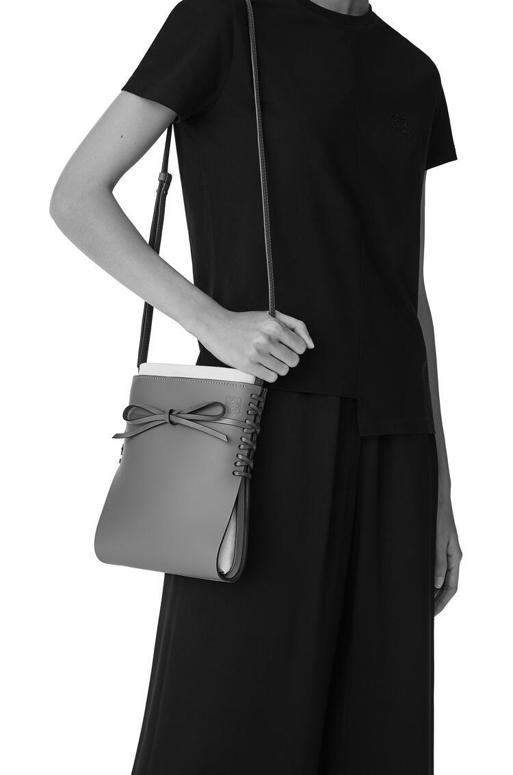 LOEWE 牛皮革 Ikebana 手袋 黑色 pdp_rd