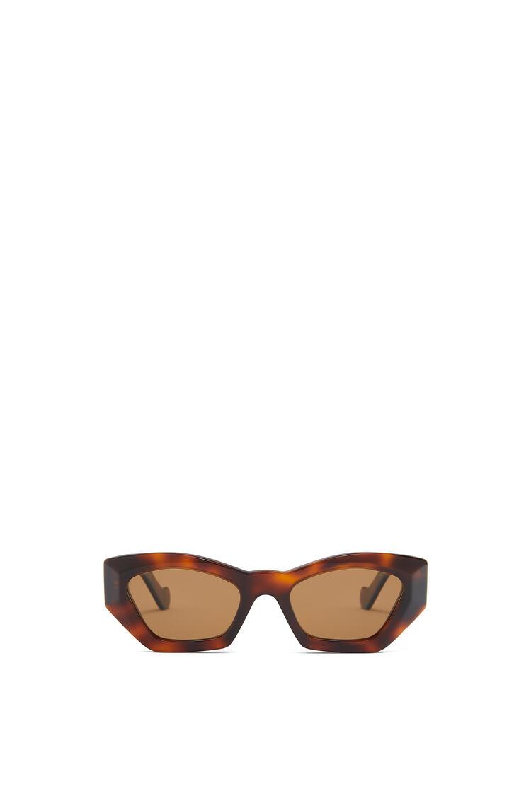 LOEWE 几何猫眼太阳镜 Havana/Brown pdp_rd