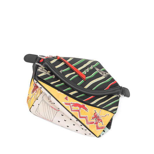 LOEWE Bolso Puzzle Paula Patchwork Multicolor all