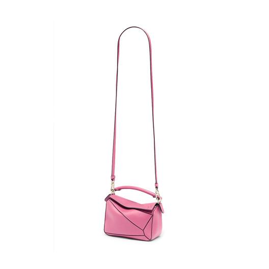 LOEWE Puzzle Mini Bag Wild Rose front