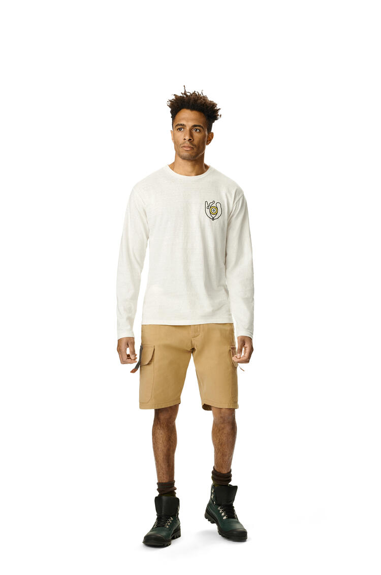 LOEWE Long sleeve t-shirt in cotton White pdp_rd