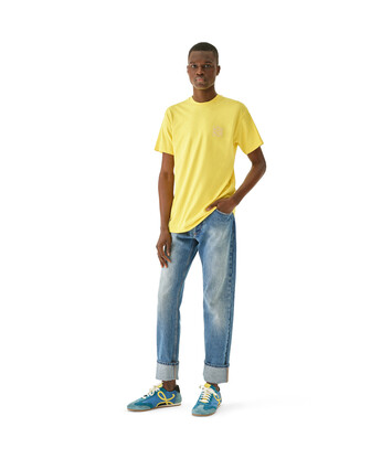 LOEWE Anagram T-Shirt Bright Yellow front