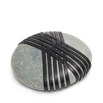 LOEWE Hizashi Knot Stone Black front
