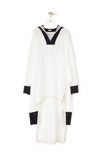 LOEWE Sailor Tunic Blanco/Marino front