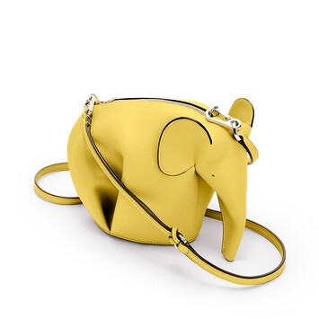 LOEWE Elephant Mini Bag Yellow front